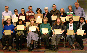 2012 Participants with certificates
