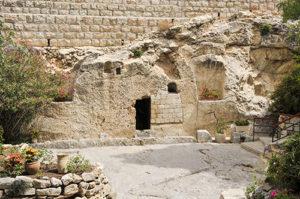 Jesus Tomb Outside