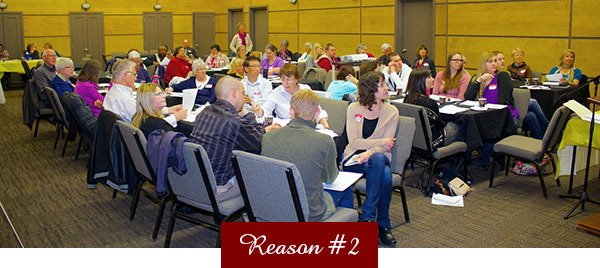 Reasons to Give - Conference Room