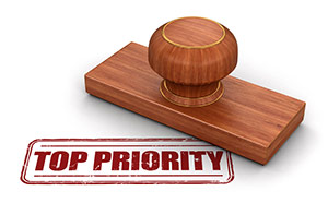 Top Priority Stamp