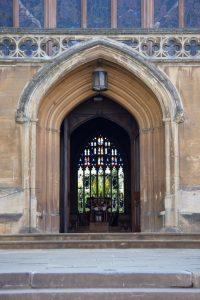 Church with Door Open