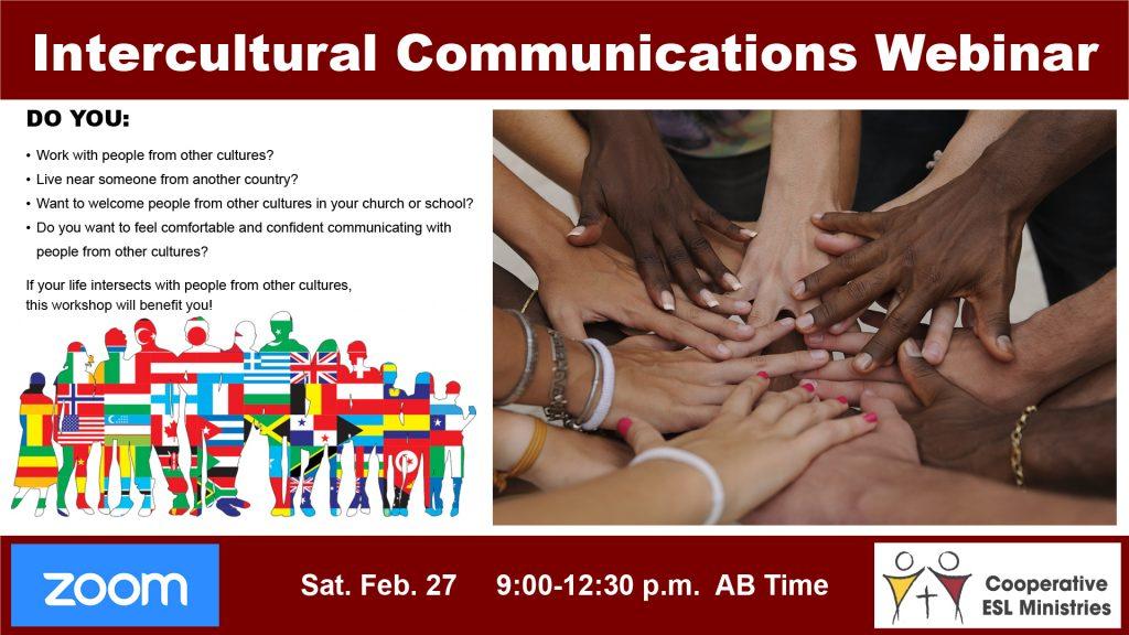 Intercultural Workshop Poster