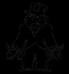 Mr. Monopoly Broke